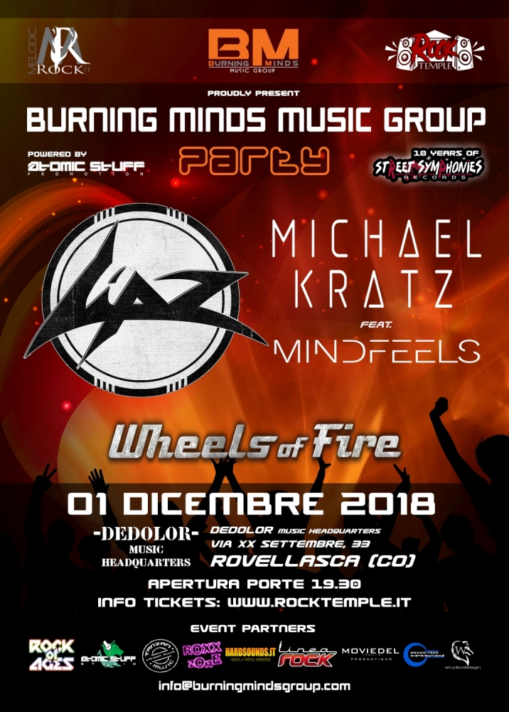 Burning Minds Music Group Party