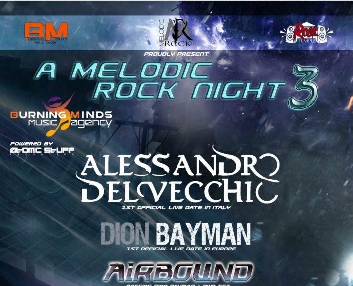 A Melodic Rock Night 3