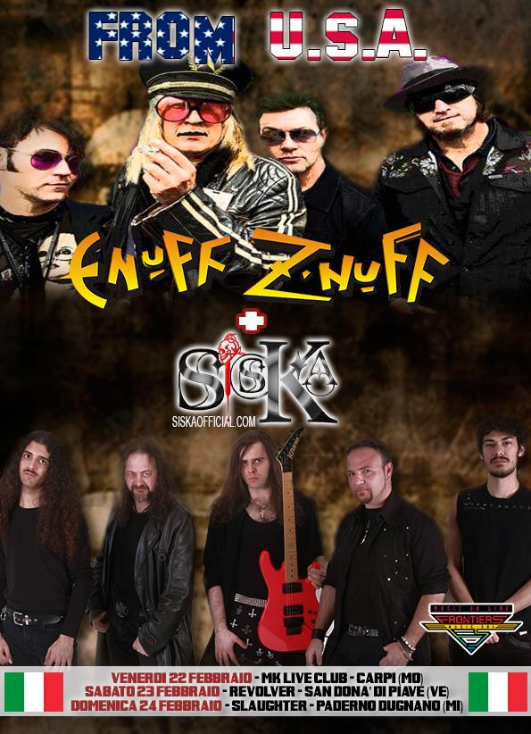 Enuff Z' Nuff tour 2019