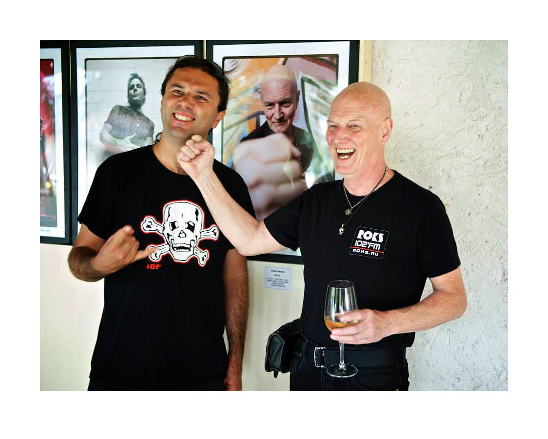 Alvise e Chris Slade