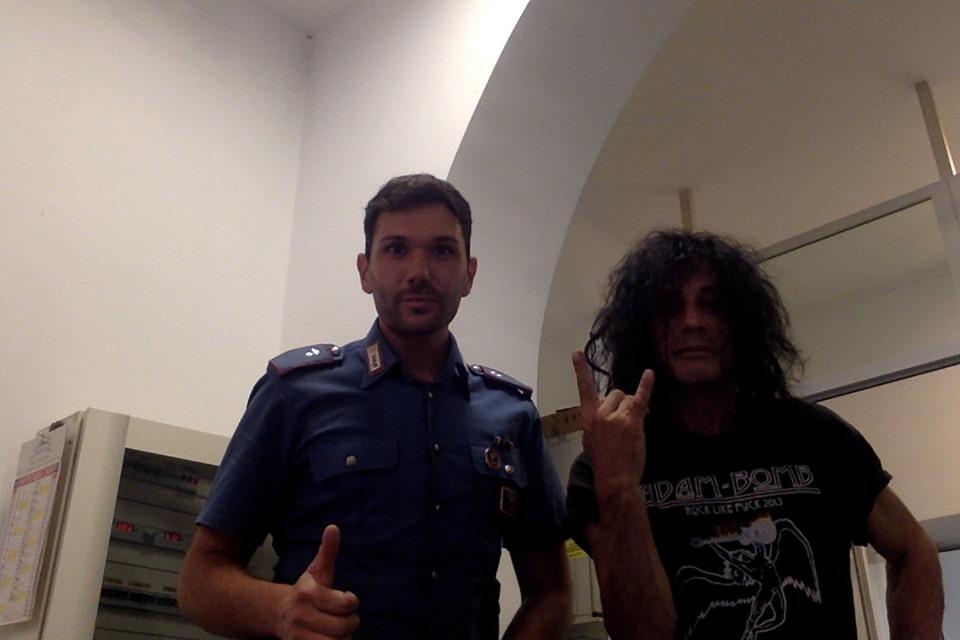 Adam Bomb dai Carabinieri