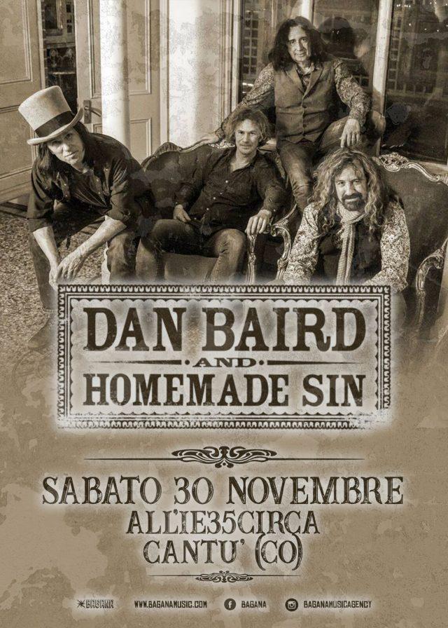 Dan Baird And Homemade Sin 30 Novembre 2019Cantù