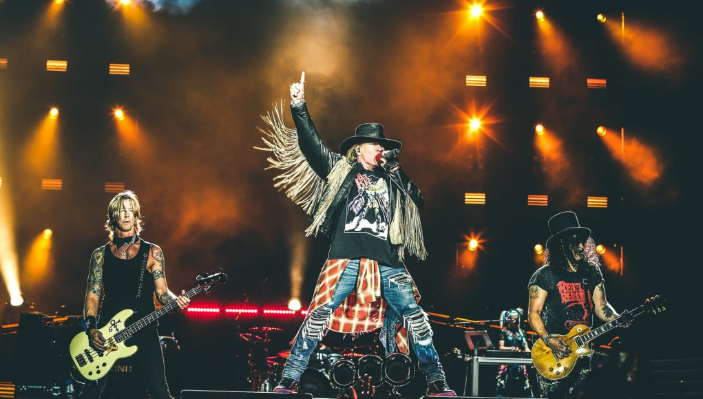 I Guns N' Roses tornano sul palco di Firenze Rocks