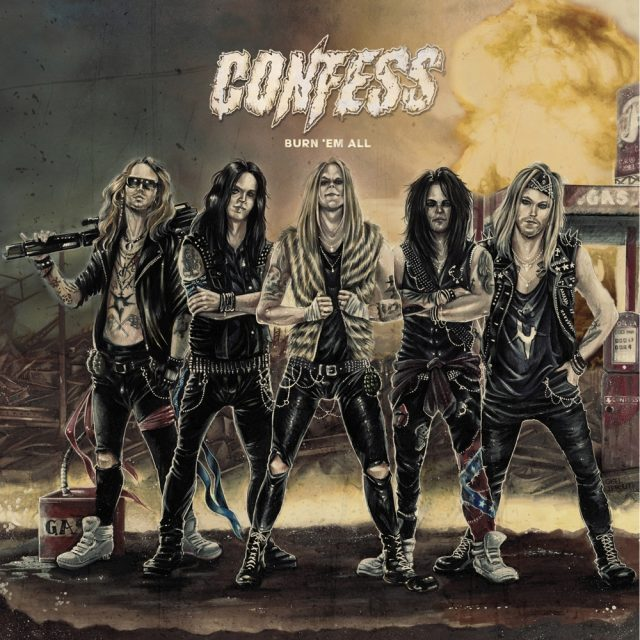 Confess - Burn em All