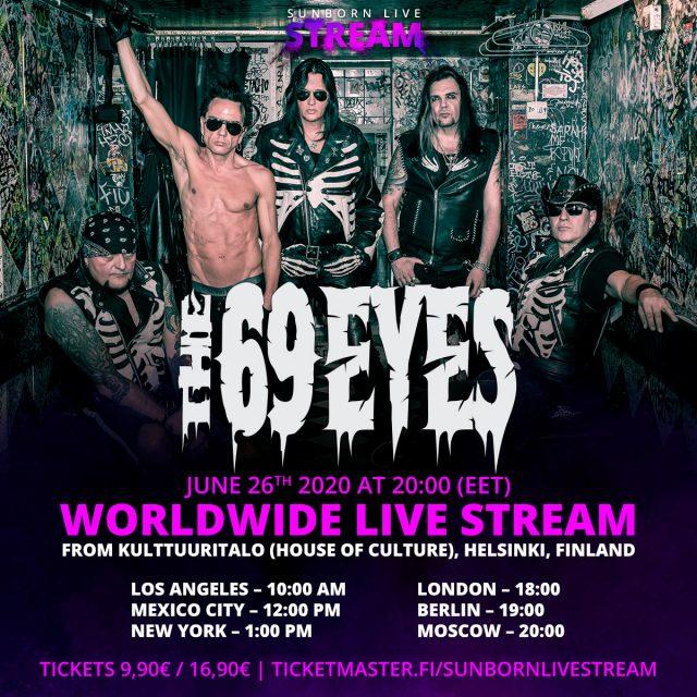 The 69 Eyes: pubblicano il video di 'Change' in vista del concerto in streaming del 30° anniversario!