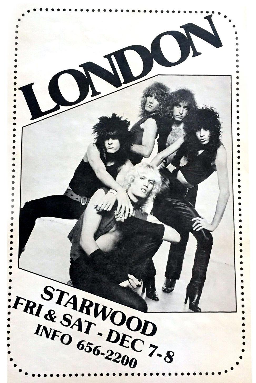 London 1980-1981