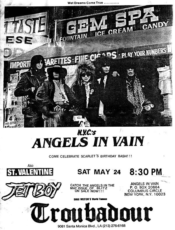 Angels in vain